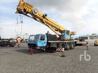 2002 GROVE GMK4075 75 Ton 8x6x6 All Terrain Crane