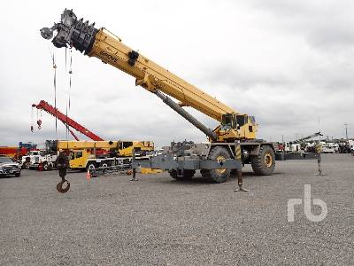 2008 GROVE RT9130E 130 Ton 4x4 w rear steer Rough Terrain Crane