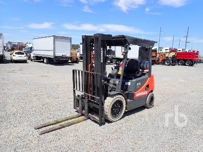 2011 DOOSAN GC25E-5 Pro 5 4600 Lb Forklift