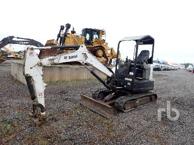 2014 BOBCAT E32M Mini Excavator (1 - 4.9 Tons)