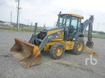2011 JOHN DEERE 410J 4x4 Loader Backhoe