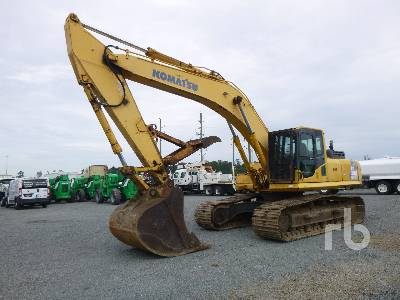 2007 KOMATSU PC300LC-8 Hydraulic Excavator