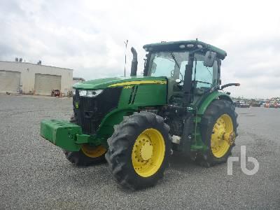 2014 JOHN DEERE 7230R MFWD Tractor