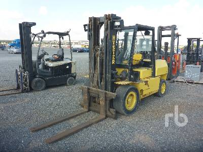 2009 HYSTER H100XL 9600 Lb Forklift