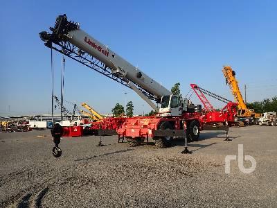 2007 LINK-BELT RTC8090 SII 90 Ton 4x4x4 Rough Terrain Crane