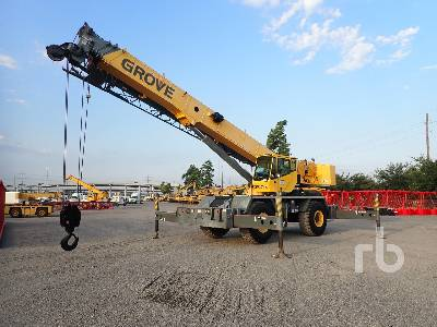 2006 GROVE RT600E 50 Ton 4x4 Rough Terrain Crane