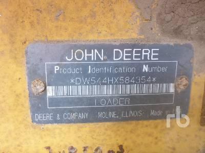 2002 JOHN DEERE 544H Wheel Loader
