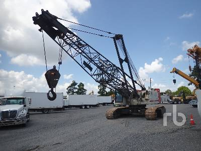 2012 LINK-BELT LS218H 110 Ton Self-Erecting Crawler Crane