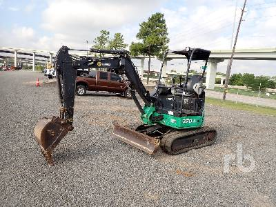 2013 JOHN DEERE 27D Mini Excavator (1 - 4.9 Tons)