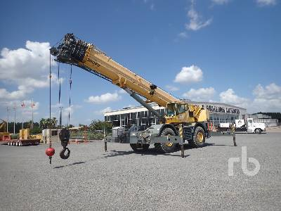 2010 GROVE RT890E 90 Ton 4x4 w rear steer Rough Terrain Crane