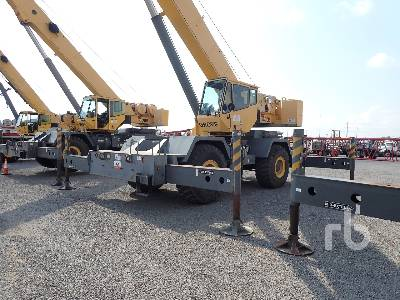 2007 GROVE RT600E 50 Ton 4x4 Rough Terrain Crane