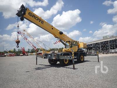 2007 GROVE RT530E 30 Ton 4x4 w rear steer Rough Terrain Crane