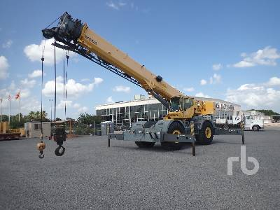 2008 GROVE RT700E 60 Ton 4x4 w rear steer Rough Terrain Crane