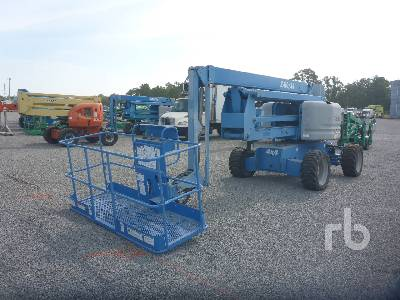 2011 GENIE Z60/34 Articulated Boom Lift