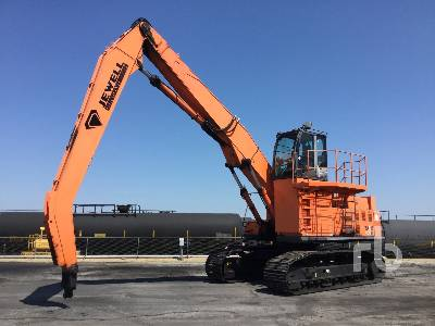 2011 HITACHI ZX450LC-3 Tracked Material Handler