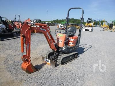 2014 KUBOTA K0083 Mini Excavator (1 - 4.9 Tons)