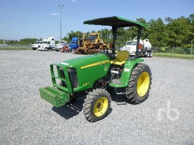 2014 JOHN DEERE 3038E Utility Tractor