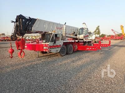 2001 LINK-BELT HTC11100 100 Ton T/A T/A Hydraulic Truck Crane