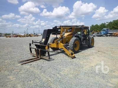2017 CATERPILLAR TL943D 9000 Lb 4x4x4 Telescopic Forklift