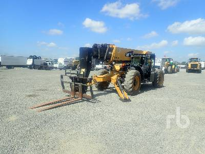 2014 CATERPILLAR TL1255C 12000 Lb 4x4x4 Telescopic Forklift