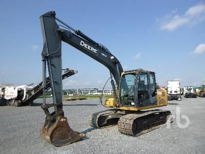 2010 JOHN DEERE 120D Hydraulic Excavator