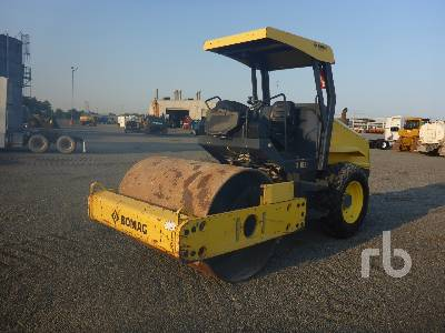 2013 BOMAG BW177DH Vibratory Padfoot Compactor