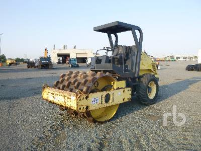 2007 BOMAG BW177PDH-3 Vibratory Padfoot Compactor