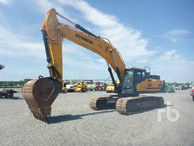 2016 HYUNDAI HX480L Hydraulic Excavator