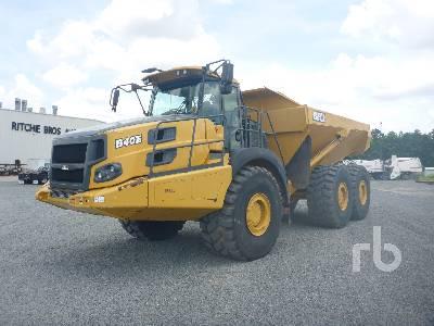 2017 BELL B40E 6x6 Articulated Dump Truck