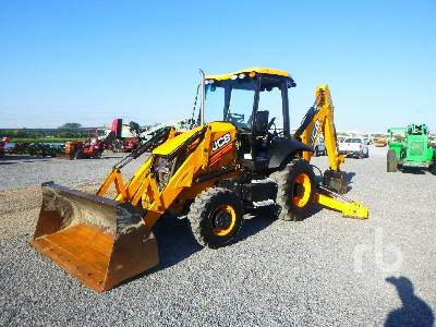 2017 JCB 3CX Loader Backhoe
