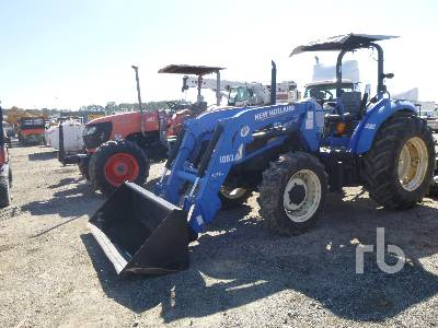 2012 NEW HOLLAND T4.75 MFWD Tractor