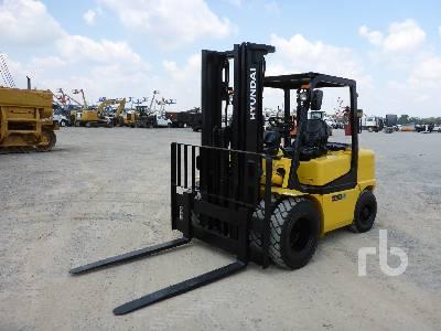 2008 HYUNDAI 45DS-7 10,000 lb Forklift