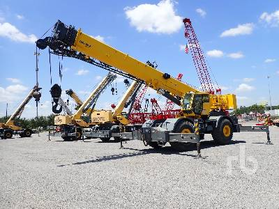 2013 GROVE RT765E-2 65 Ton 4x4 w rear steer Rough Terrain Crane