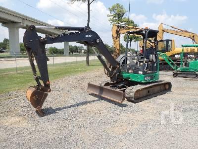 JOHN DEERE 50G Mini Excavator (1 - 4.9 Tons)
