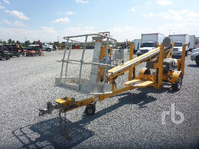 2015 HAULOTTE 3632T Tow Behind Boom Lift