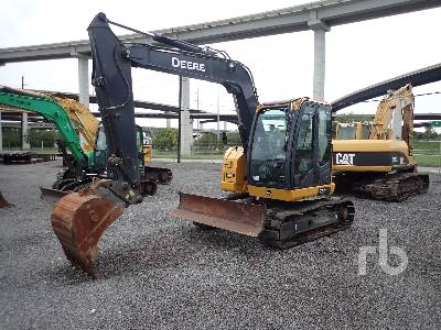2018 JOHN DEERE 75G Hydraulic Excavator