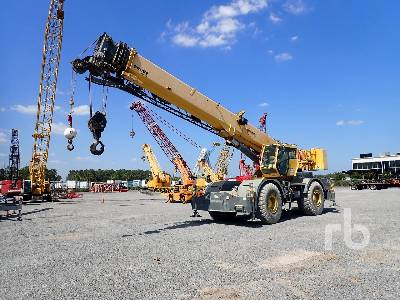 2011 GROVE RT700E 60 Ton 4x4 w rear steer Rough Terrain Crane