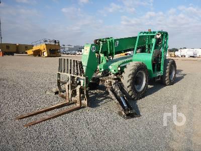 2013 JLG 10054 10000 Lb 4x4x4 Telescopic Forklift