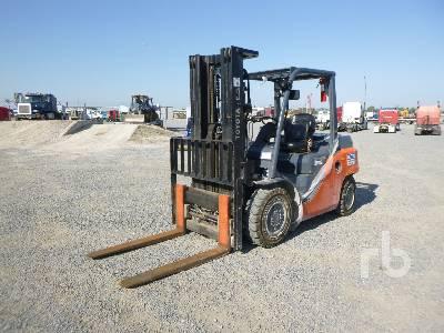 2019 TOYOTA 8FD35U Forklift