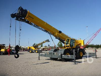 2011 GROVE RT700E 60 Ton 4x4 Rough Terrain Crane