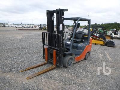 2017 TOYOTA 8FGCU30 5120 Lb Forklift