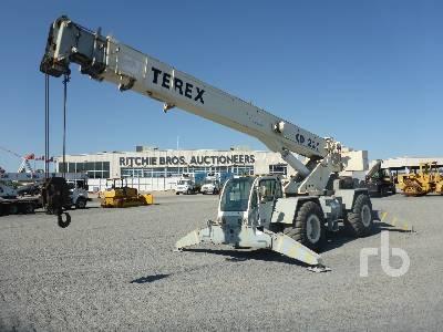 2007 TEREX CD225 25 Ton 4x4x4 Rough Terrain Crane