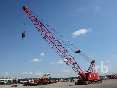 1986 MANITOWOC 4100W S2 200 Ton Crawler Crane