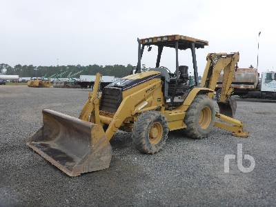2004 CATERPILLAR 416D Loader Backhoe