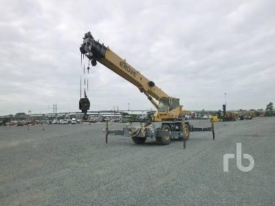 2000 GROVE RT530E Rough Terrain Crane