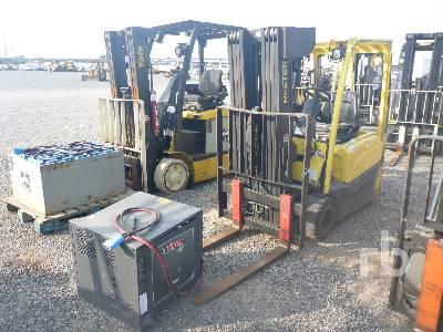 2014 HYSTER J40XNT 4000 Lb Electric Forklift