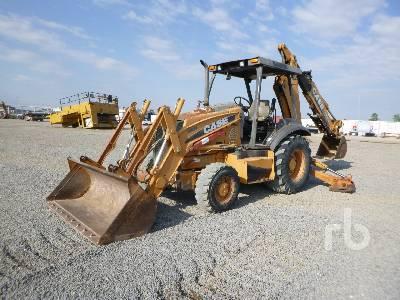 2011 CASE 580N 4x4 Loader Backhoe