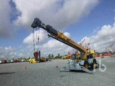 1996 GROVE RT58D 20 Ton 4x4 Rough Terrain Crane