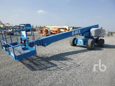 2012 GENIE S80 4x4 Boom Lift