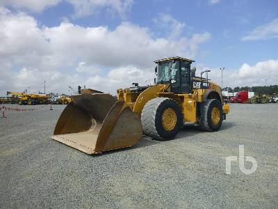 2014 CATERPILLAR 980K 2 Pass Wheel Loader